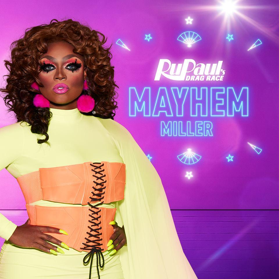 Mayhem Miller from RuPaul's Drag Race S10