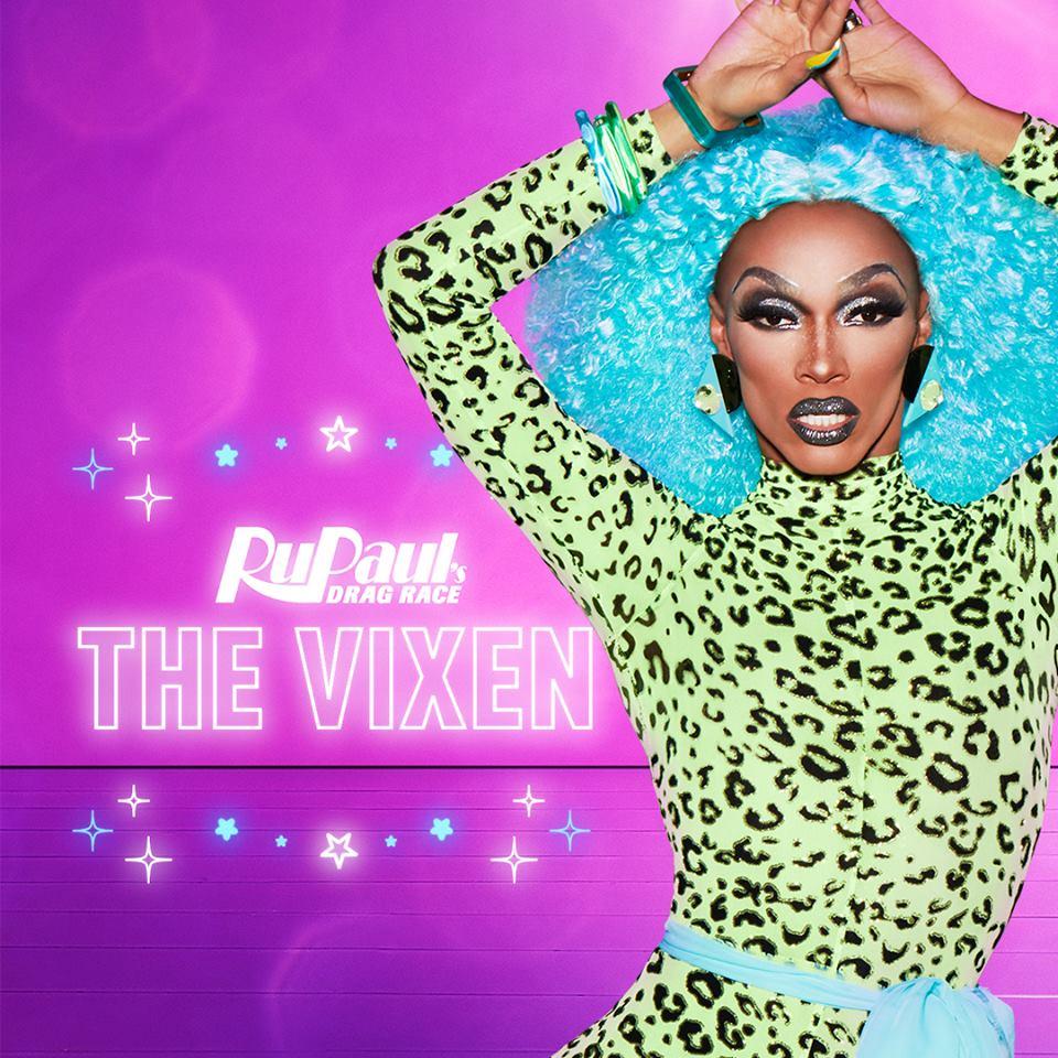 The Vixen's promo shoot for RuPaul's Drag Race S10