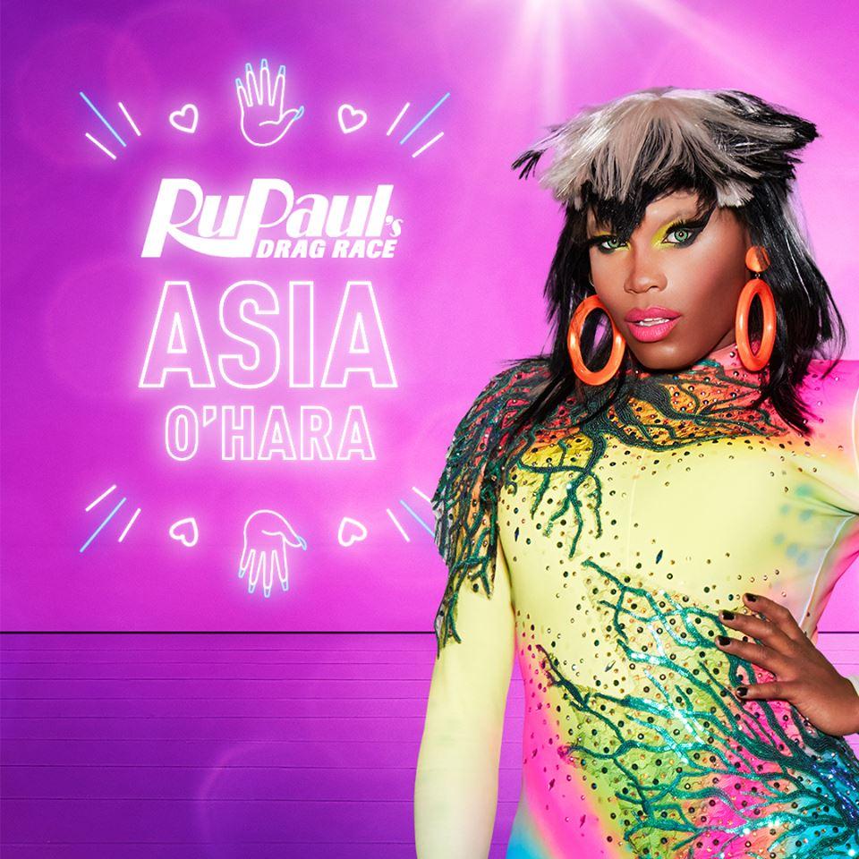 Asia O'Hara from RuPaul's Drag Race S10