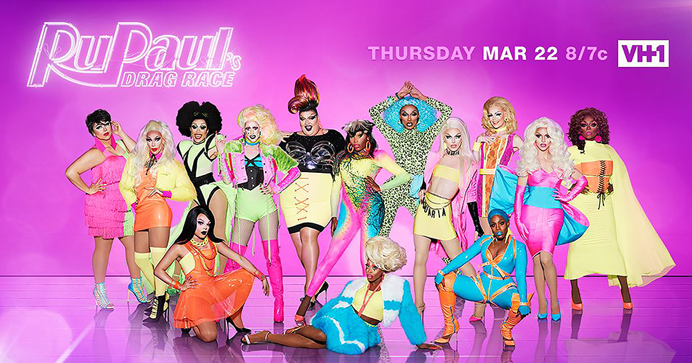 The cast of RuPaul's Drag Race Season 10