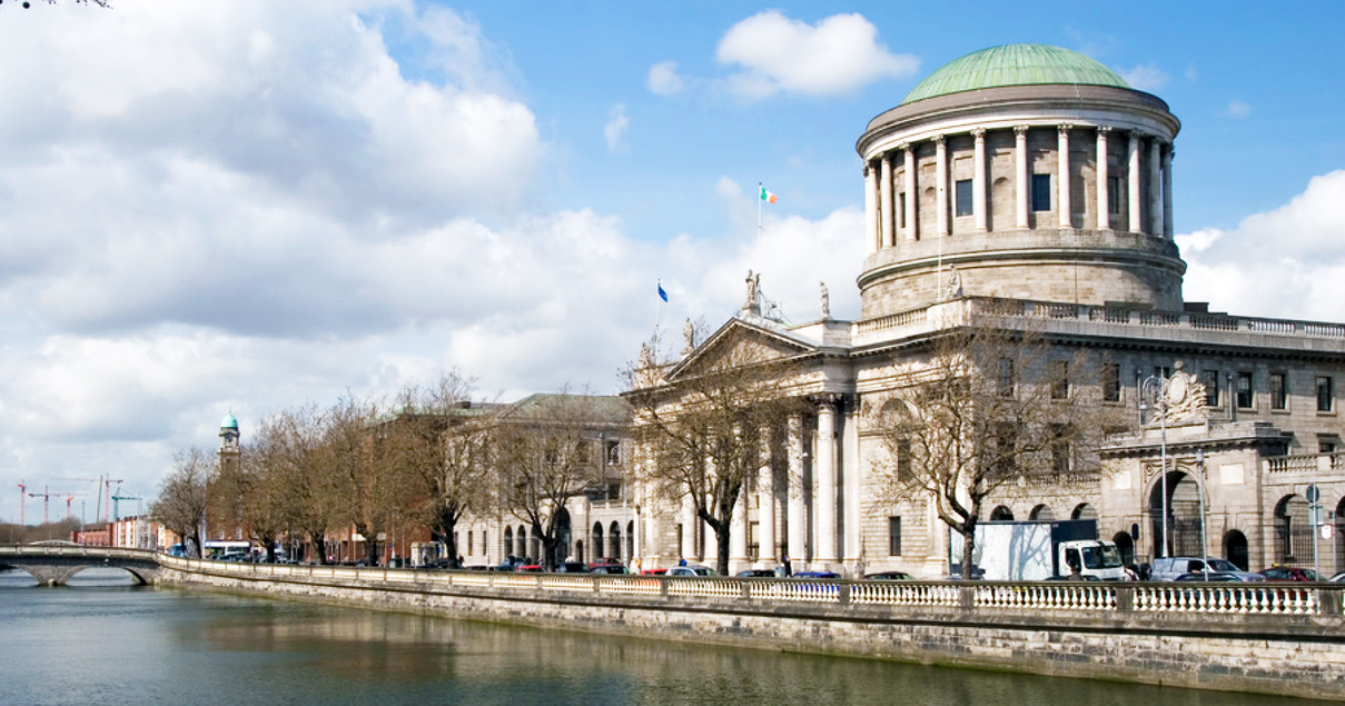 High Court on the River Liffey