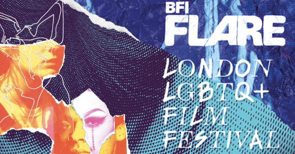 Poster for London LGBTQ+ Film Festival BFI Flare