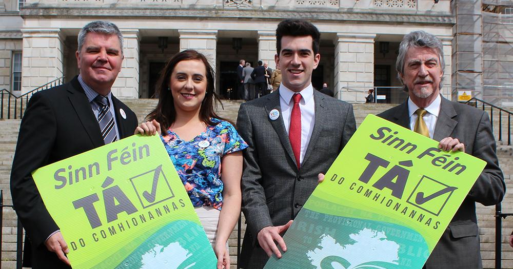Members of Sinn Féin