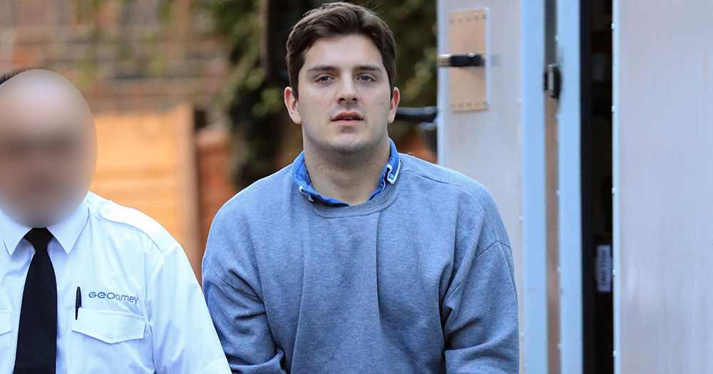 Hairdresser Daryll Rowe who lied about his HIV status is pictured arriving at arrives at Lewes Crown Court