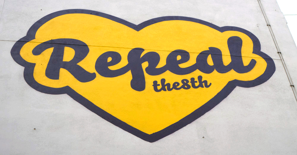 Maser's Repeal Mural Reappears on Amnesty International Ireland's Wall