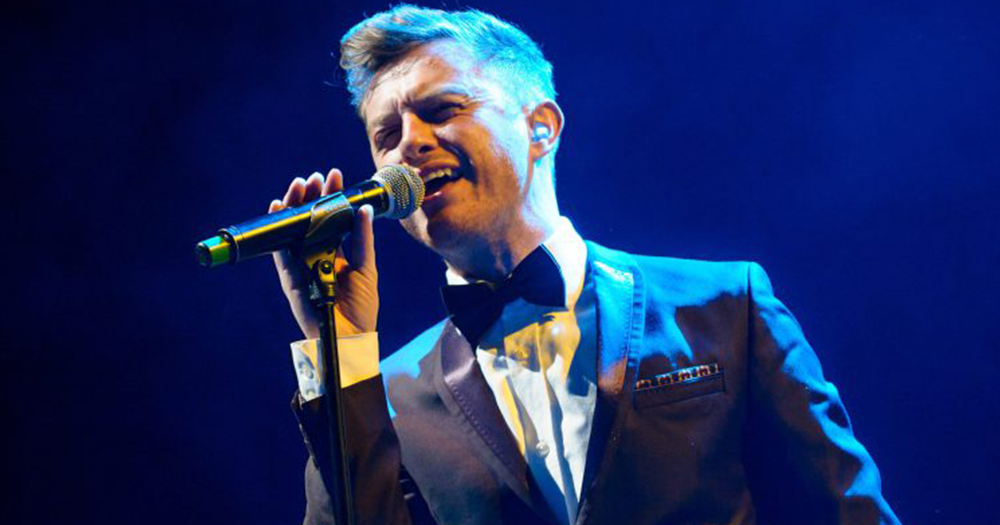 Timmy Matley of The Overtones