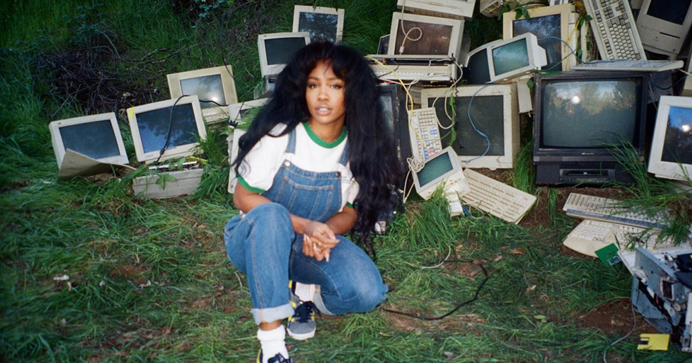 SZA's long awaited major label debut Ctrl appeared June 9 and focuses on intimacy