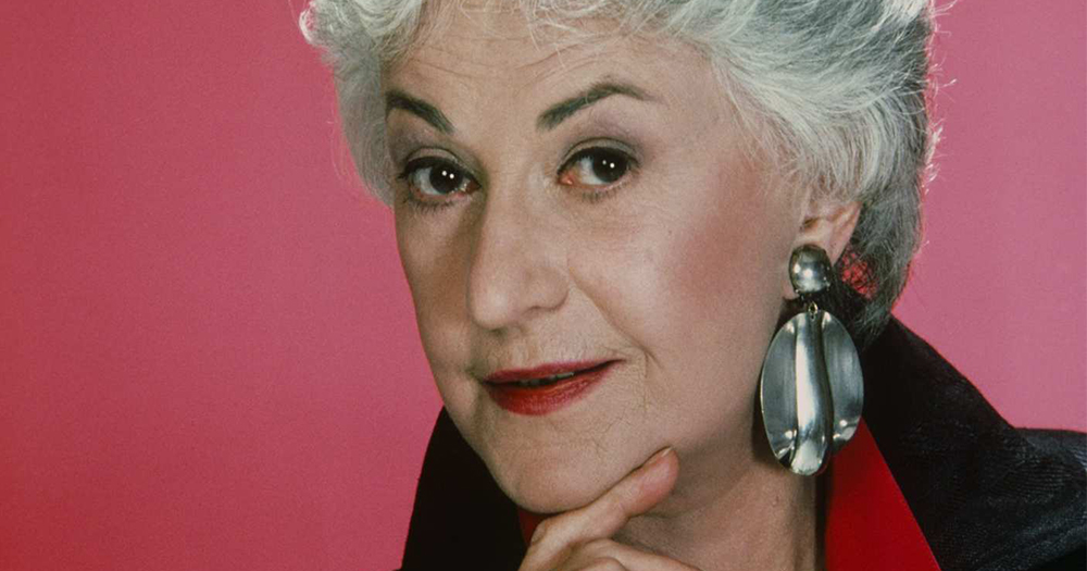 Headshot of Bea Arthur, one of five icons proving age is just a number