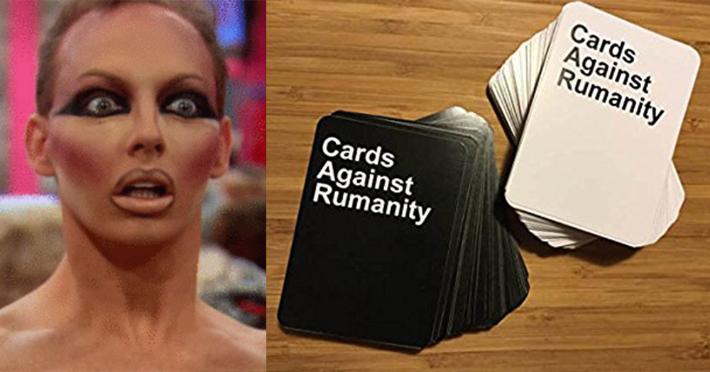 New party game Cards Againt Rumanity Is Here