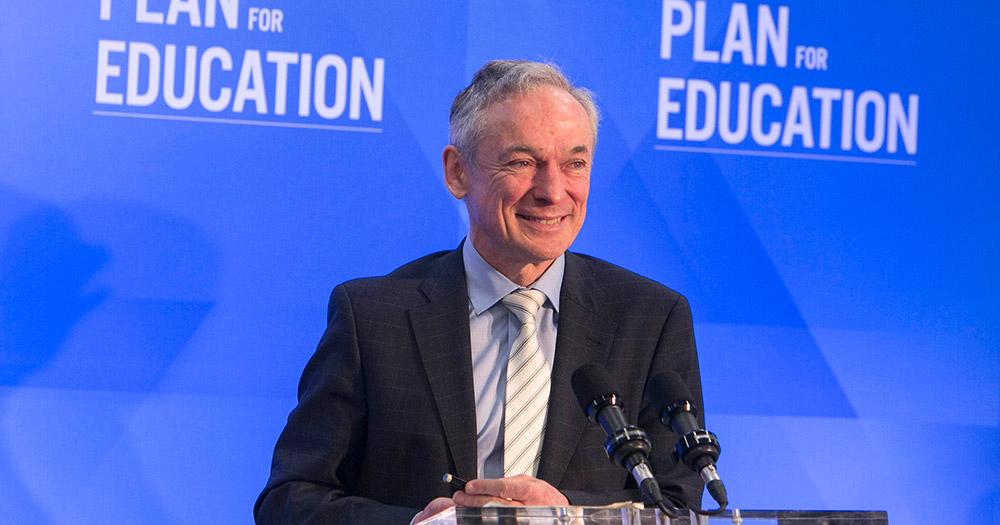 Richard Bruton Minister for Education