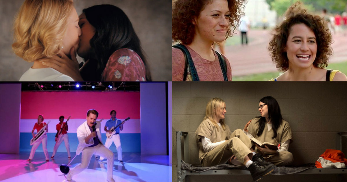 The Most Iconic Bisexual Characters On TV Right Now | GCN | Gay ...