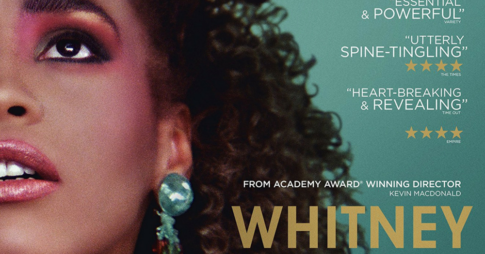 The poster for Kevin MacDonald's new documentary 'Whitney'