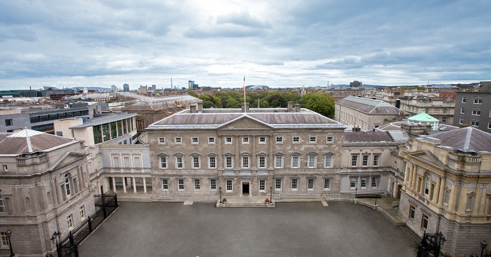 Leinster House Dáil Government