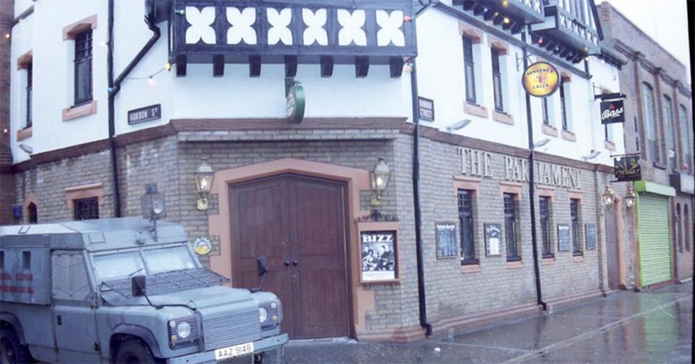 The Parliament Bar where RUC Constable Bradshaw was murdered