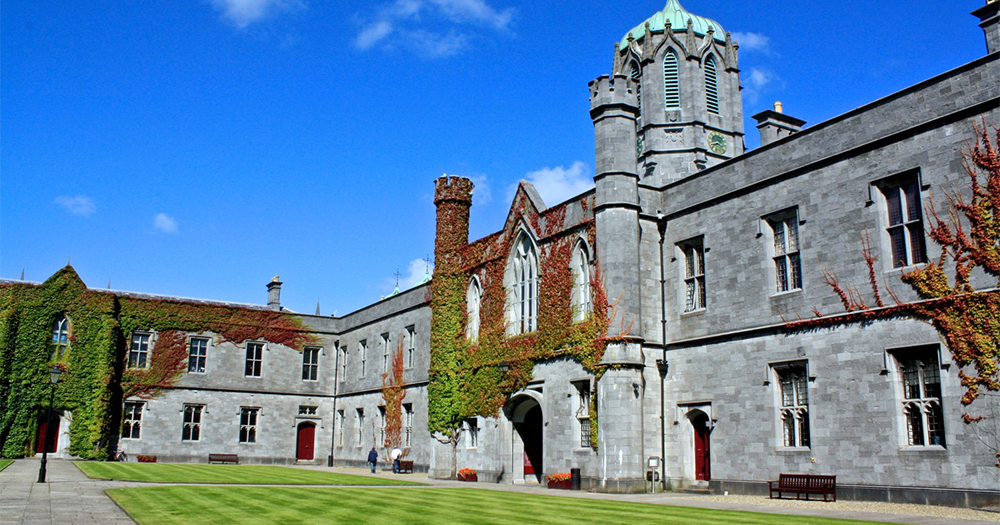 The exterior of NUI Galway