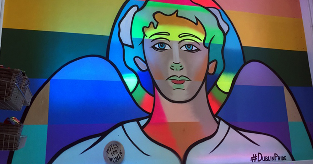Pride pop-up shop features street art from FINK