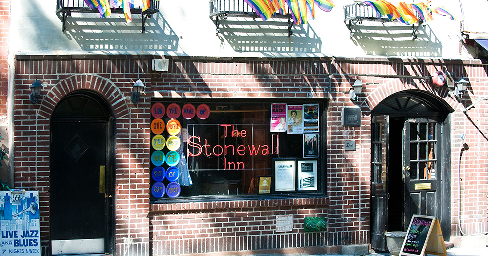 The exterior of the Stonewall Inn for which there will now be a commemorative Stonewall Day