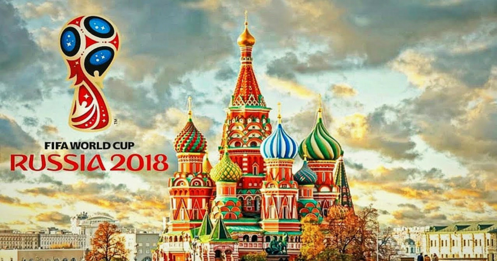 Russia's official World Cup 2018 Logo