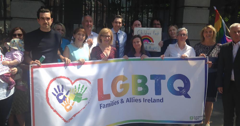 LGBT+ Families Outside The Dáil