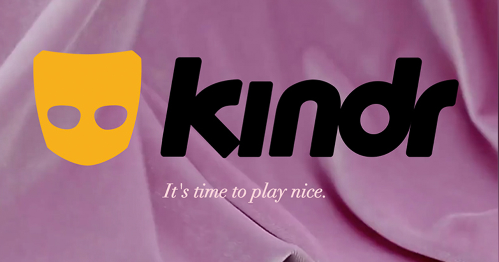 New landing page for app 'Kindr' which hopes to tackle racism