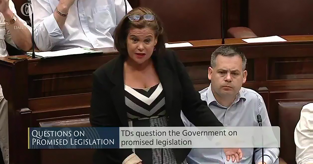 Mary Lou raises trans healthcare in Dail