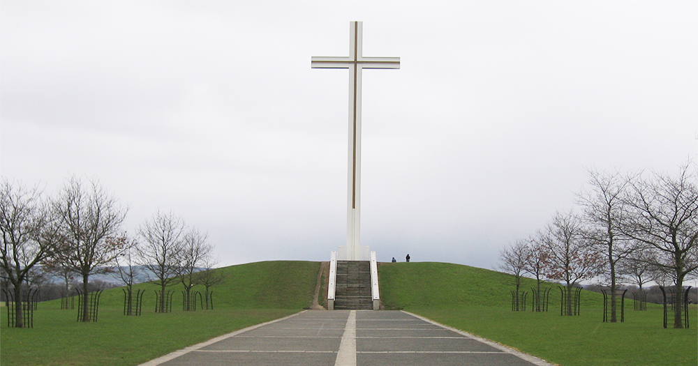 The Papal Cross in the Phoenix Park which was the site of the Pope's visit in 1979