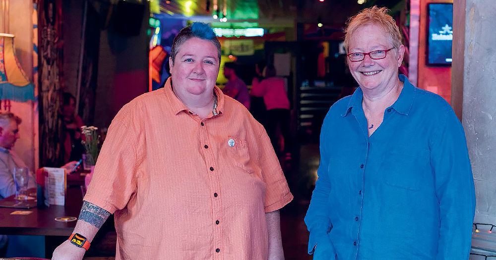 Irish Lesbian documentary makers Sonya Mulligan and Ger Moane