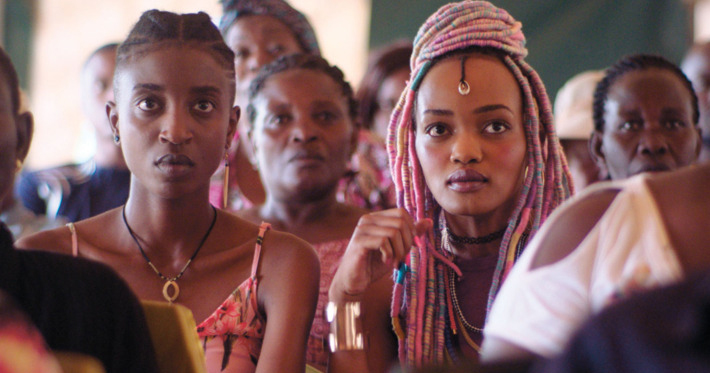 A still from the Kenyan Movie Rafiki