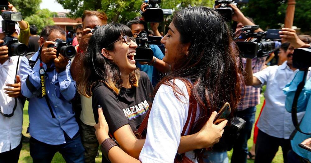 India's Supreme Court decriminlises homosexuality