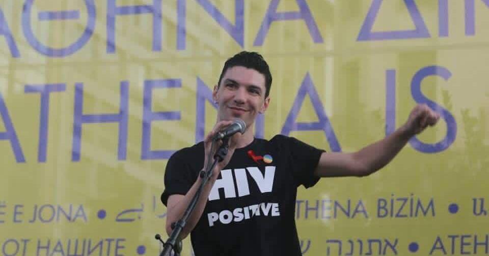 Image of activist Zak Kostopoulos