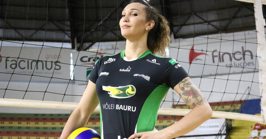 Brazillian transgender volleyball player Tifanny Abreu
