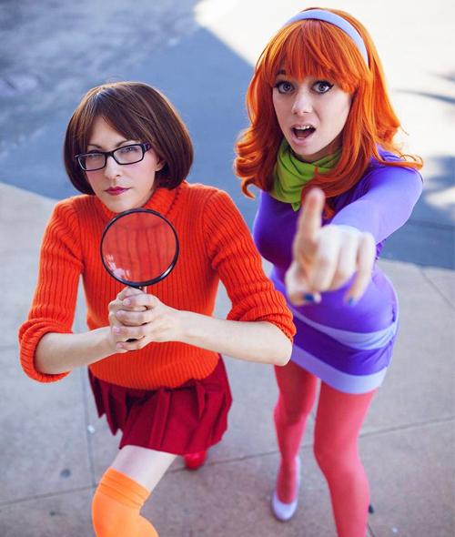 Daphne And Velma Halloween costumes