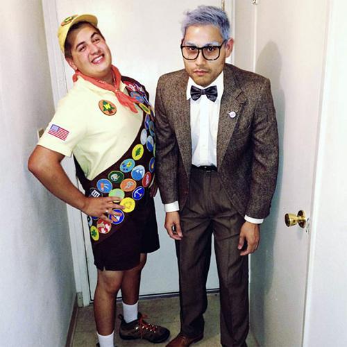 Pixar's UP Halloween Costume