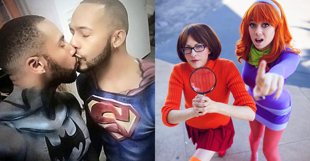 LGBT couples Halloween costumes
