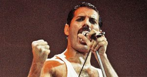 Act up london protesting ommision of Freddie Mercury AIDS Status in new film