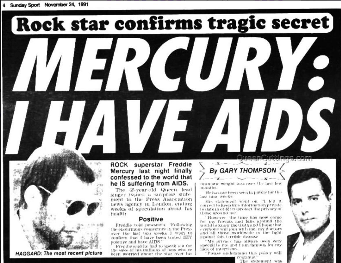 Freddie Mercury And Princess Diana