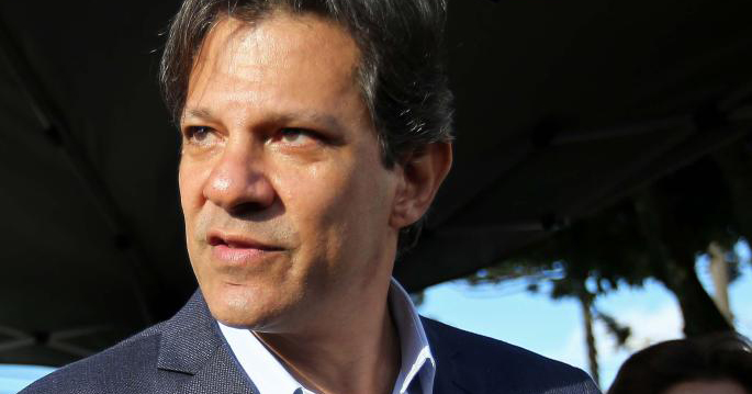 Fernando Haddad, the left-wing candidate.