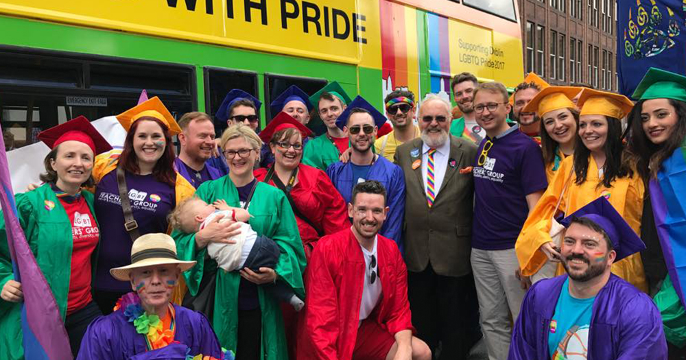 INTO LGBT Teachers at Pride