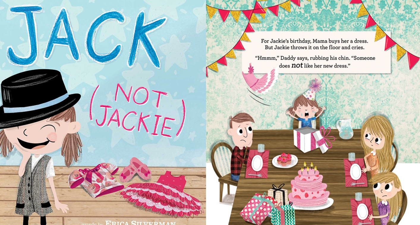 Children's book Jack Not Jackie tells story of transgender boy