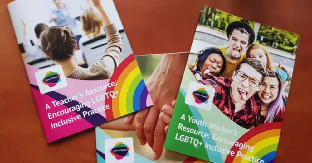 lgbt+ materials available for teachers in Northern Ireland