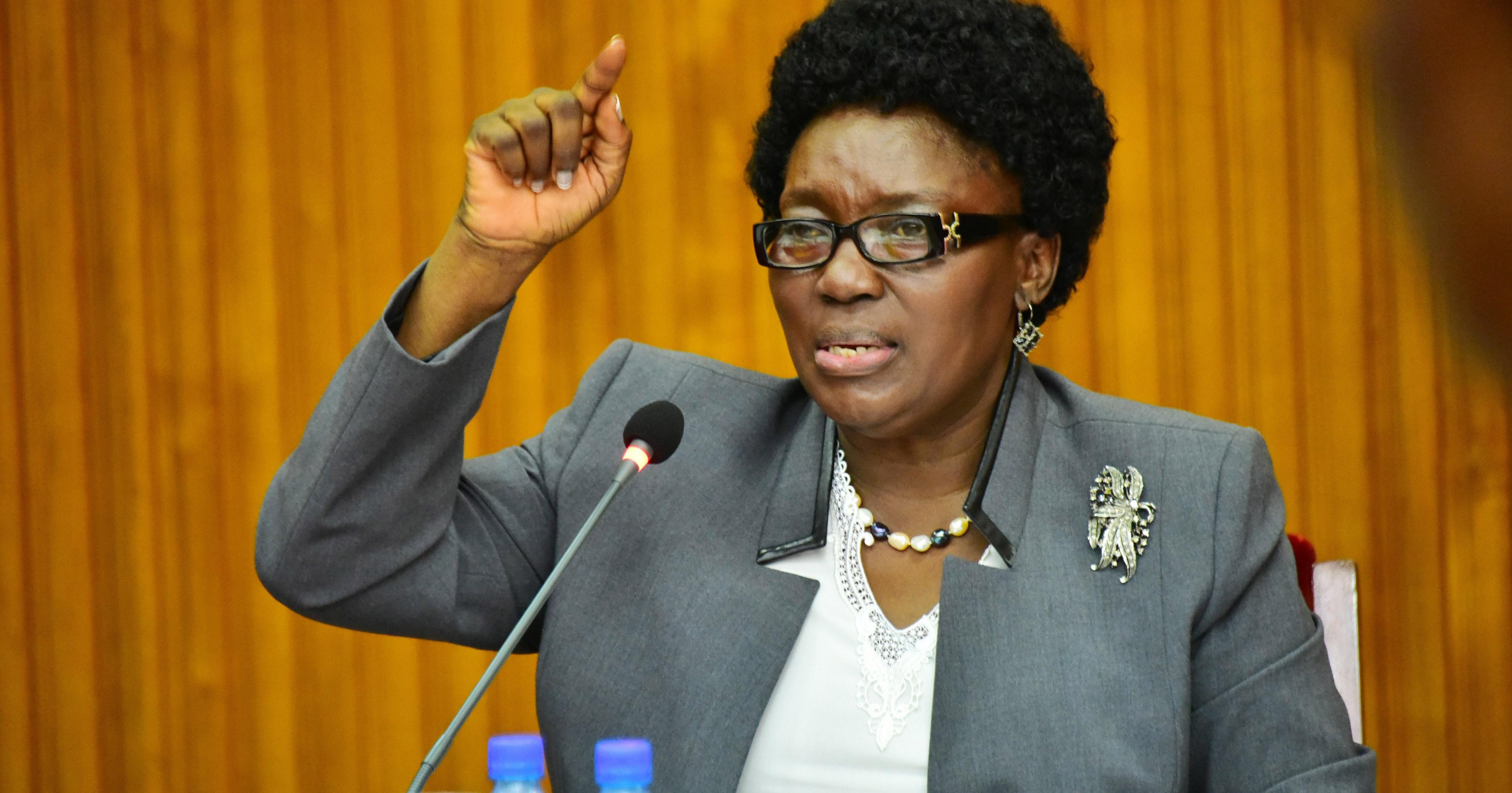 Ugandan MP Rebecca Kadanga