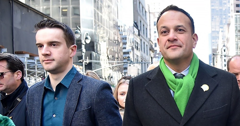 Prime Minister of Ireland Leo Varadkar attends the 2018 New York City St. Patrick's Day