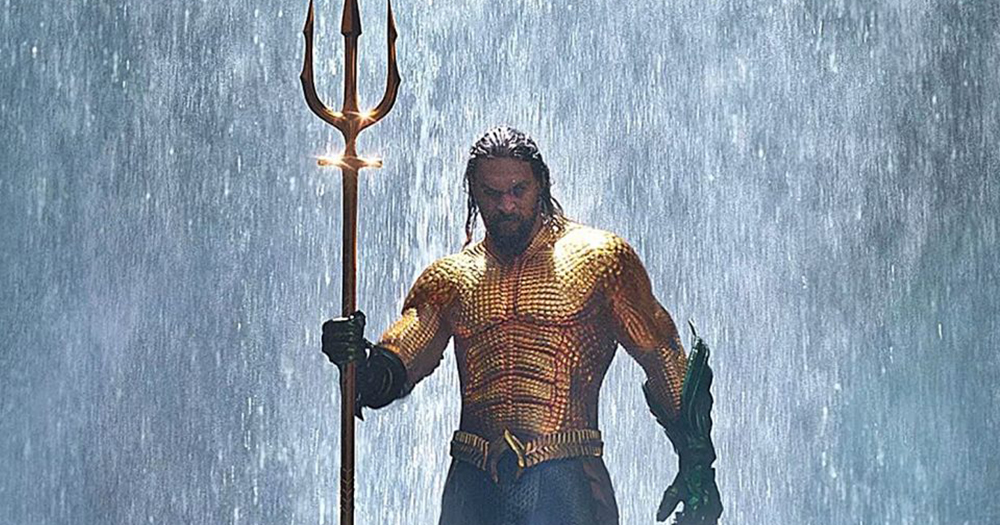 Aquaman Trailer Screengrab