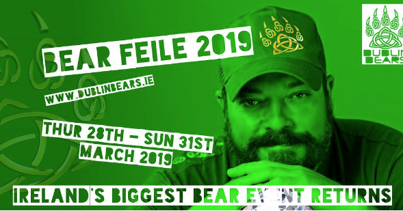 The poster for Ireland's biggest bear festival.