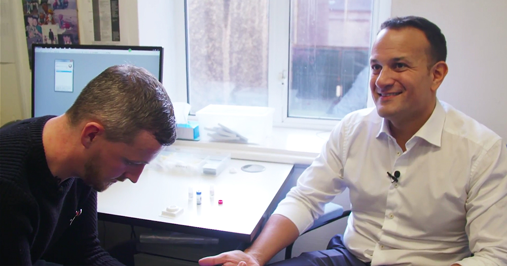 Leo Varadkar Becomes First Taoiseach To Publicly Take HIV Test
