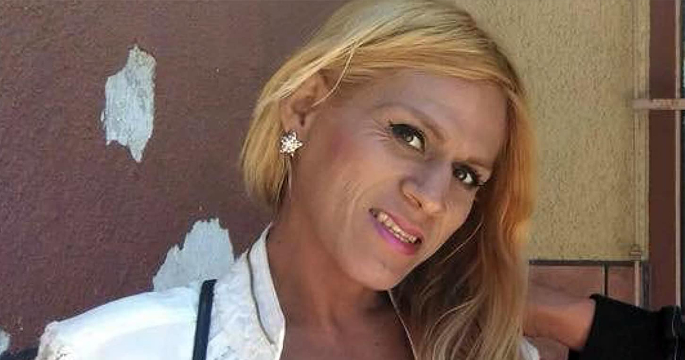 Trans Woman who dies in ICE, looking at the camera. Her autopsy revealed she was brutally beaten.