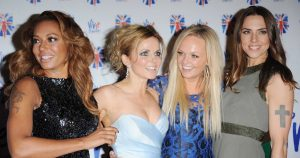 the spice girls on the red carpet
