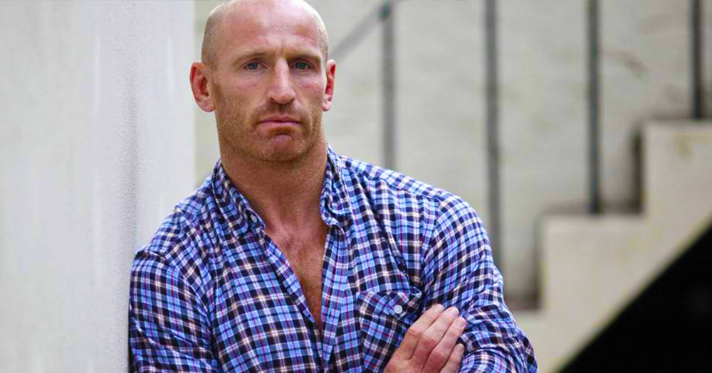 Rainbow Laces campiagn in support of Former Wales Captain Gareth Thomas