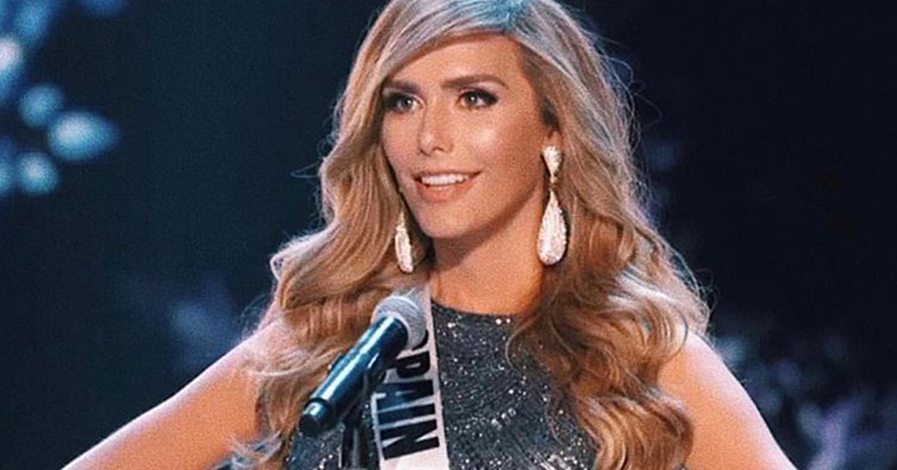 Miss Universe Spain 2018 Angela Ponce
