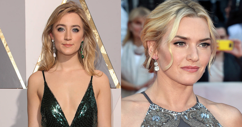 Saoirse Ronan and Kate Winslet who are set to star as lesbian lovers in new movie
